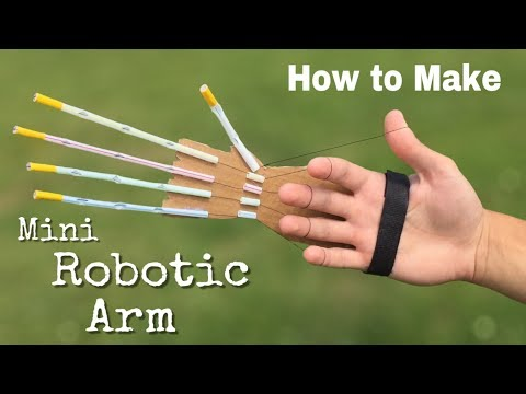 Science Invension | How To Make ROBOTIC ARM at home | Annie channel