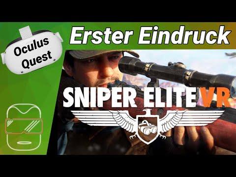 Oculus Quest 2 [deutsch] Sniper Elite VR: Erster Eindruck | Oculus Quest 2 Games VR Games 2021