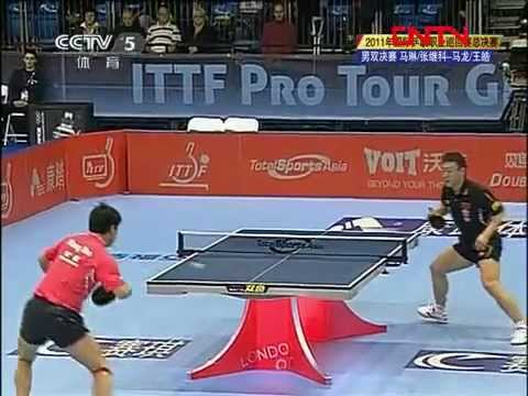 2011 Grand Finals (md-f) MA Lin / ZHANG Jike - MA Long / WANG Hao [Full 3/4]