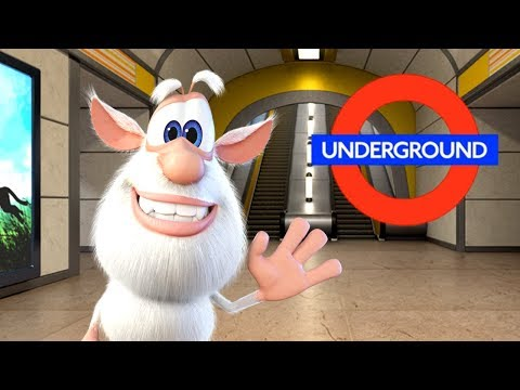 Booba - ep #19 - In the Subway 🚇 - Funny cartoons for kids - Booba ToonsTV thumbnail