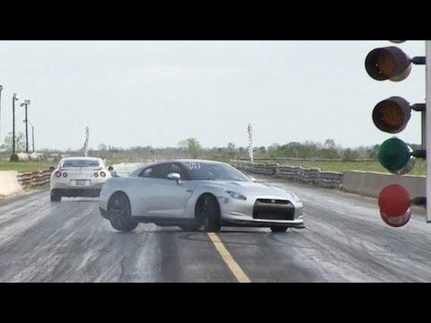 Мастерство или везение? на Nissan GT-R