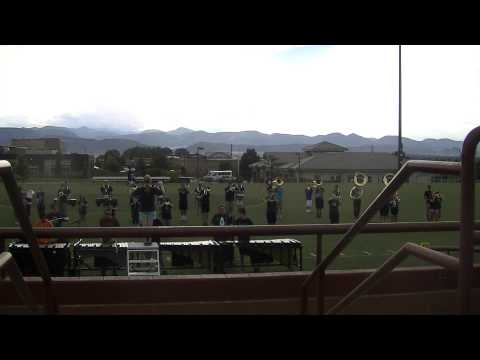 ThunderRidge High School - Marching Band - First Movement - 2014