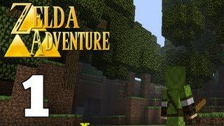 Let's Play Adventure Craft: Zelda Adventure Part 1: Schleimi Dungeon