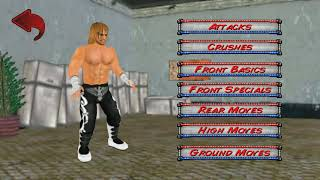 How to create wwe DOLPH ZIGGLER in WR3D and his moves