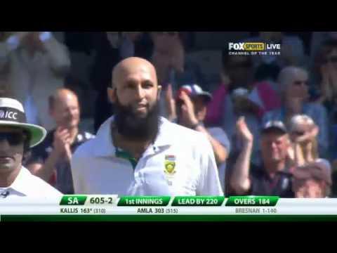 Hashim Amla scores 300 HD