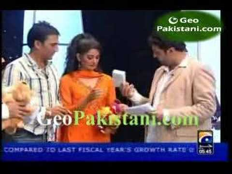 Game Show with Shoaib Younus with Actreses Pt 6