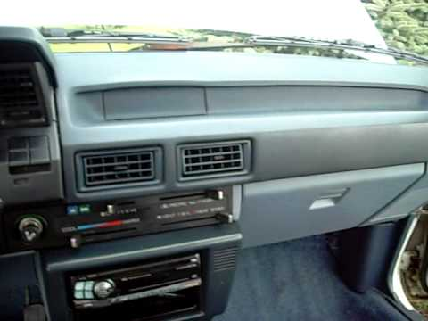 1984 Toyota Corolla Youtube