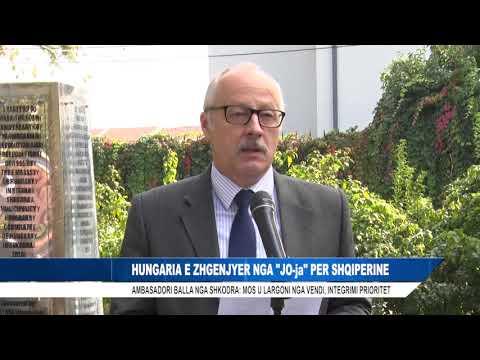 HUNGARIA E ZHGENJYER NGA ''JO-ja'' PER SHQIPERINE