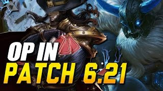 NEW OP CHAMPS IN 6.21 - TANK META? Champs to watch / Nerfs / Buffs + GIVEAWAY (League of Legends)