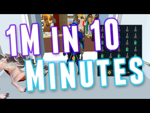 Runescape 3 – Money Making – 1M in 10 Minutes! – No Requirements