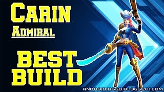 Heroes Arena: Carin (Admiral) Best Build Gameplay Android/iOS
