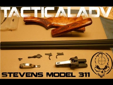 Savage / Stevens Model 311 Restoration. Side by Side Double Barrel 12 gauge