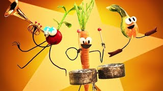StoryBots | Veggie Boogie | Learning Songs 🎶 Different Vegetables | Netflix Jr