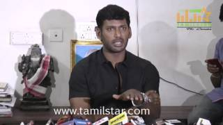 Vishal Urgent Press Meet Regarding Producer Council