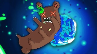 GIANT BEAR CRUSHES EARTH   Pit People #1