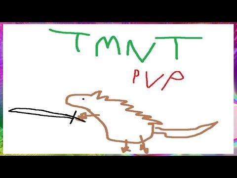 Minecraft: Teenage Mutant Ninja Turtles CHALLENGE! w/Bajan Canadian & Friends! (TMNT PVP)