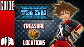 Treasure Chest Locations: The Grid Sora | Kingdom Hearts Dream Drop Distance HD (2.8)
