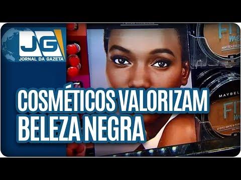 Cosméticos valorizam a beleza negra