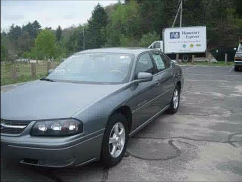 Chevrolet Impala Reviews >> 2004 Chevrolet Impala LS Start Up, Engine & In Depth Tour - YouTube