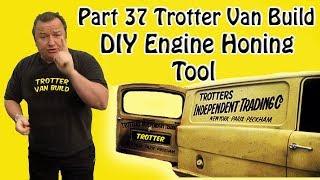Part 37 Reliant Trotter Restoration DIY Engine  Bore Honing