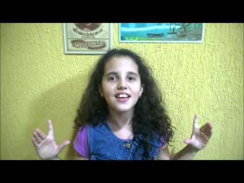 Mariana Portolan Pires cantando Libre Soy (Frozen - Uma Aventura Congelante)