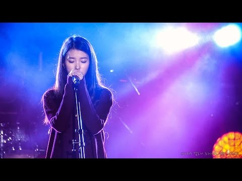 [4K] 150919 IU 'if You' Cover, LIVE, Fancam By Dorappi @ Melody Forest Camp 2015