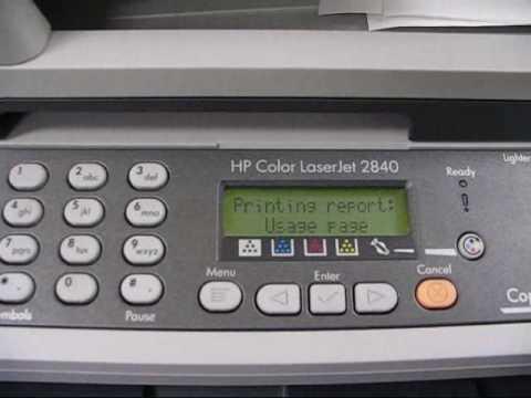 hp color laser jet 2820:
