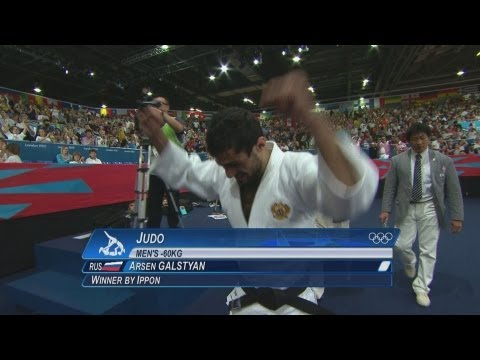 Judo Men -60 kg Final - Gold Medal - GALSTYAN v HIRAOKA Full Replay -- London 2012 Olympic Games Image 1
