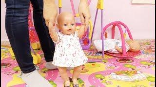 Baby Born en español Bruno y Abril🍵RUTINA DE TARDE🍼Cocino papilla