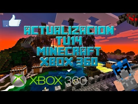 Actualizacion TU14 Minecraft xbox 360 - Review en español Completo Primeras impresiones