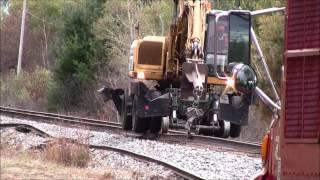RJ Corman Rail Gang on The Barron Sub