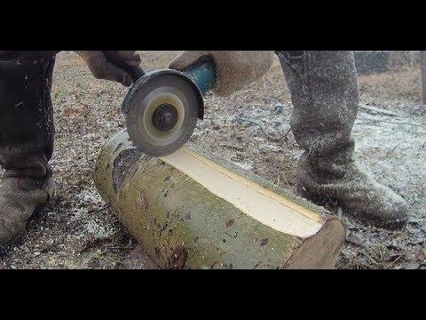 Тест диска  по дереву на болгарке и копире