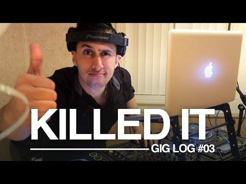 I Like to Dance When I DJ Parties | DJ Gig Log