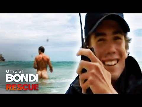 Nude swimmers at North Bondi Beach! | Bondi Rescue