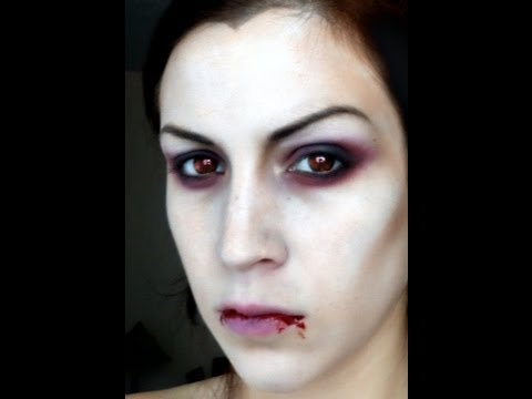 Maquillage d 39 halloween vampire youtube - Maquillage vampire petite fille ...
