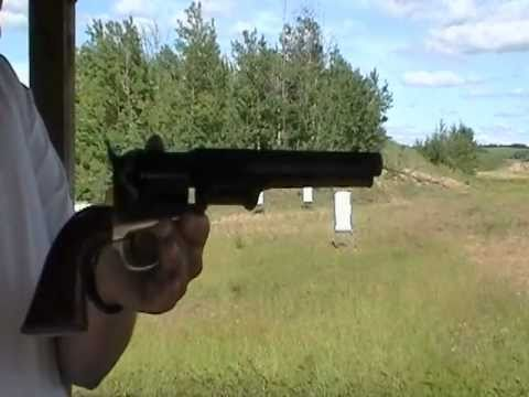 Firing The 1851 Colt Navy