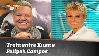 Apoio (ou não) a Bolsonaro gera treta de Xuxa e Felipeh Campos