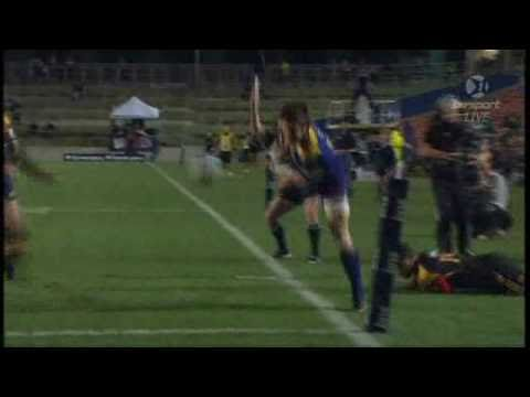 Super Rugby Video Highlights 2011 - Keats tackle on Mathewson - Tyson Keats Tip Tackle on Alby Mathe