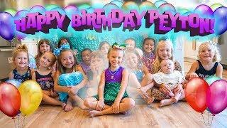 PEYTON'S 6th MERMAID BIRTHDAY PARTY SPECIAL! 🎂