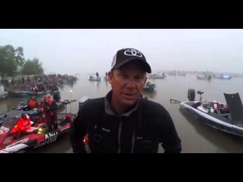 KVD on day 2 - Elite Series Lake Dardanelle