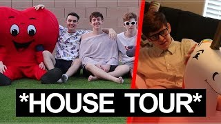 THE NONSENSE HOUSE TOUR: Inside the Worst Gaming House in History