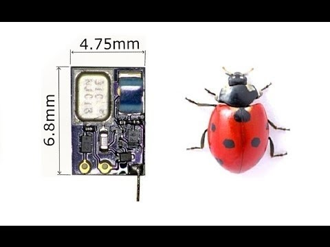 How to build a tiny FM Spy Bug