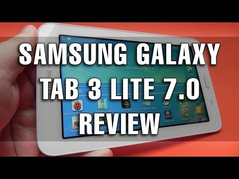 Samsung Galaxy Tab 3 Lite 7.0 Review în Limba Română - Mobilissimo.ro