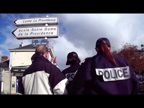 Manifestation RDV de l'Histoire - Incident avec un pro LGBT  2/2