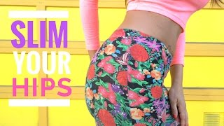 Slim your Hips Workout at Home