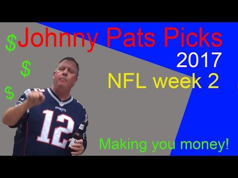 NFL week 2 picks