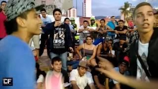 BATALLA DE GALLOS/CALLEJERA/KRIZ ALID VS MAKNUESCRITO/FREESTYLE RAP/BUCARAMANGA/HIP HOP