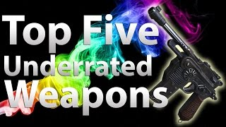 TOP 5 Underrated Guns in 'Call of Duty Zombies' - Black Ops 2 Zombies, Black Ops & WaW