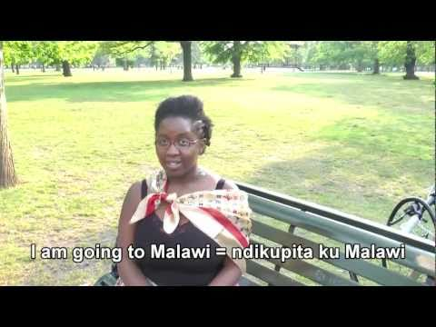 Chichewa 101.18 - learning to speak Chichewa