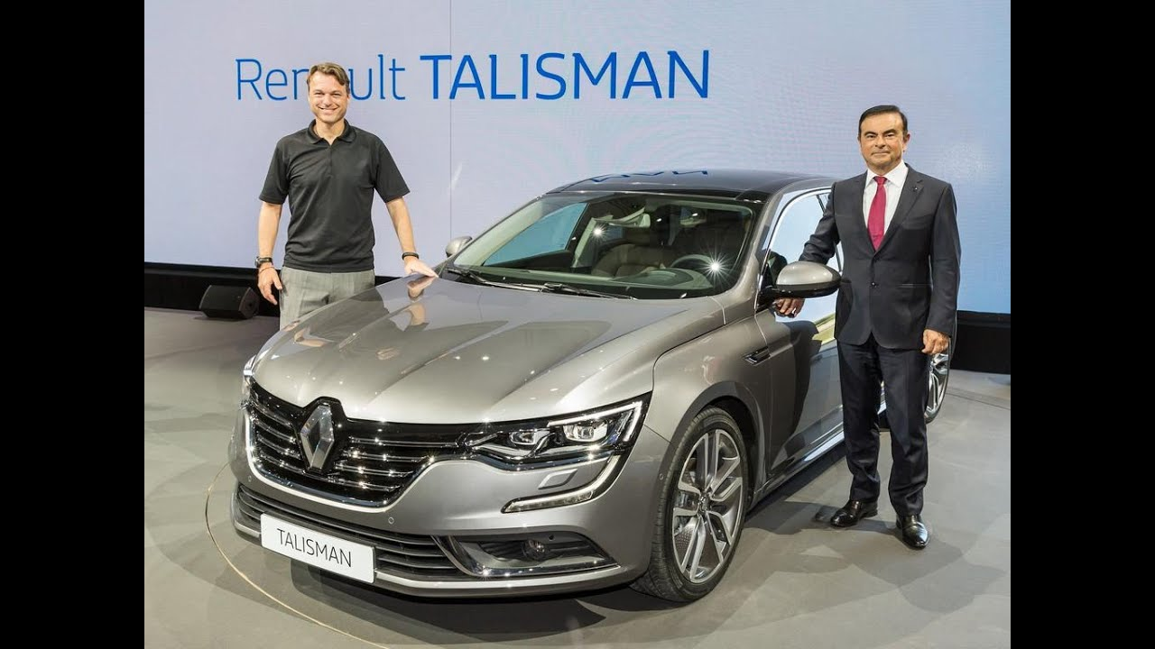 2016 Renault Talisman Review - YouTube